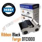 Ribbon Monochrome Black Fargo DTC1000