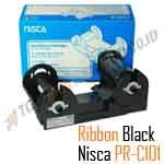 Ribbon Monochrome Black Nisca PRC101