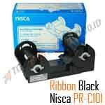 Ribbon Monochrome Black Nisca PRC101