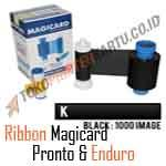 Ribbon Black Magicard Pronto dan Enduro