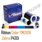 Ribbon Color Zebra P430i