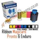 Ribbon Color YMCKO Magicard Pronto dan Enduro